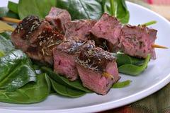 Beef Skewers Royalty Free Stock Photo