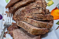 Beef sliced Royalty Free Stock Photo