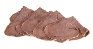 Beef Slices Stock Photos