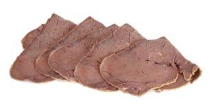 Beef Slices Stock Photos