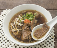 Beef soup Stock Images