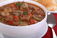 Beef Soup Closeup Royalty Free Stock Image