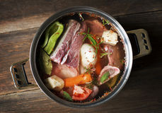 Beef soup Royalty Free Stock Image