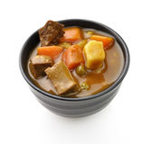 Beef Soup With Vegetables Royalty Free Stock Photo