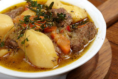Beef Soup With Vegetables Royalty Free Stock Photography