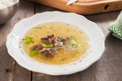Beef soup Royalty Free Stock Photos