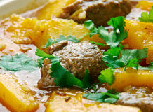 Beef  Squash Stew Royalty Free Stock Photos