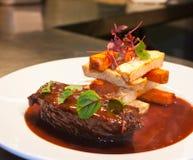 Beef steak Stock Images