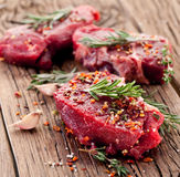 Beef steak. Stock Photos