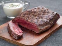 Beef steak Stock Photos