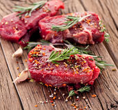 Beef steak. Royalty Free Stock Photos
