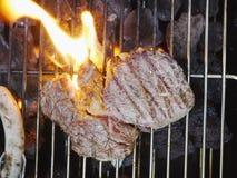Beef steak bbq Stock Images