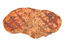 Beef steak closeup isolated Royalty Free Stock Photography