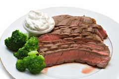Beef Steak Dinner Royalty Free Stock Photography