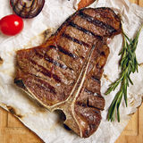 Beef Steak Dinner Royalty Free Stock Image