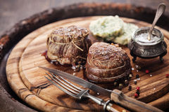 Beef steak filet mignon Stock Image