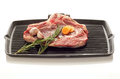 Beef steak and grill Stock Photo
