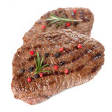 Beef steak grilled Royalty Free Stock Images