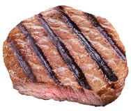Beef steak isolated on a white background. Stock Image