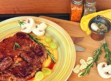 Beef steak Royalty Free Stock Photo