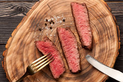 Beef steak medium Stock Photo