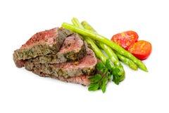 Beef steak medium roast Stock Image