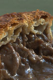 Beef Steak Pie Closeup Royalty Free Stock Photography