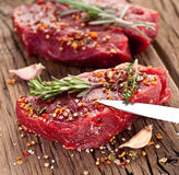 Beef steak. Royalty Free Stock Images