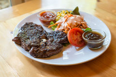 The beef steak Royalty Free Stock Photography