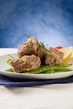 Beef Steak with with Rosemary Royalty Free Stock Photography