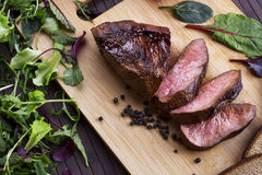 Beef steak - Stock Image Stock Photos