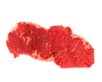 Beef steak in white background Stock Photo