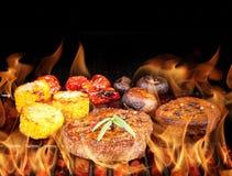 Beef steaks Stock Image