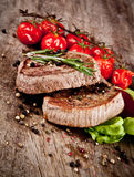 Beef steaks Royalty Free Stock Photography
