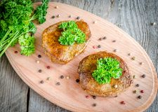Beef Steaks Stock Photography