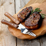 Beef Steaks Stock Photos