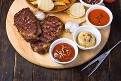Beef Steaks Royalty Free Stock Image