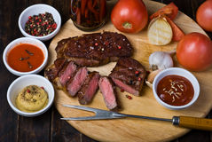 Beef Steaks Royalty Free Stock Photos