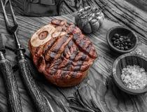 Beef steaks. Royalty Free Stock Image