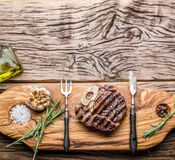 Beef steaks. Royalty Free Stock Photography