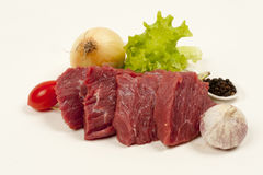 Beef steaks. Royalty Free Stock Photos