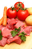 Beef stew Stock Image