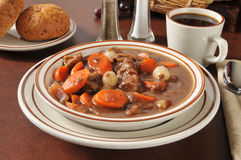 Beef Stew Bourguignon Royalty Free Stock Photos
