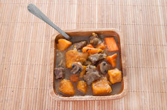 Beef stew bowl Stock Photo