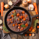 Beef stew with carrot Stock Photos