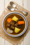 Beef stew with carrot, potato and onion Stock Images