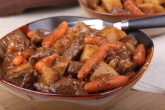 Beef Stew Closeup Royalty Free Stock Photo