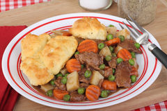Beef Stew Dinner Royalty Free Stock Images