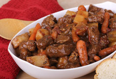 Beef Stew Dinner Stock Images