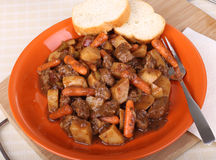 Beef Stew Dinner Royalty Free Stock Photo